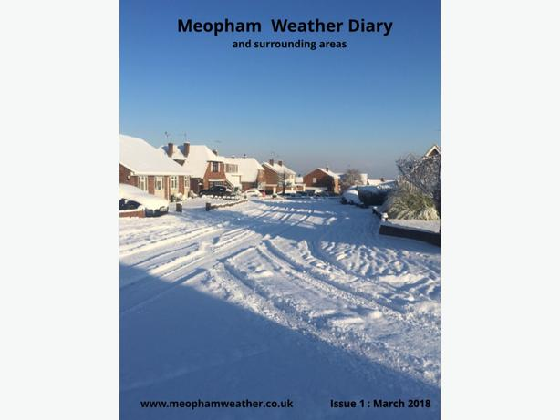 Meopham Weather Diary Magazine - March 2018