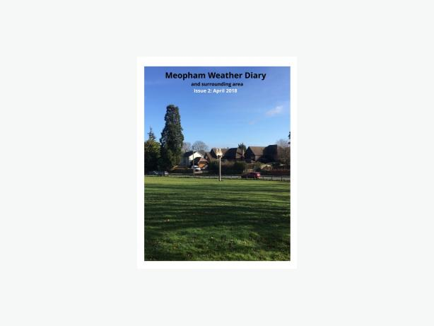 Meopham Weather Diary Magazine - April 2018