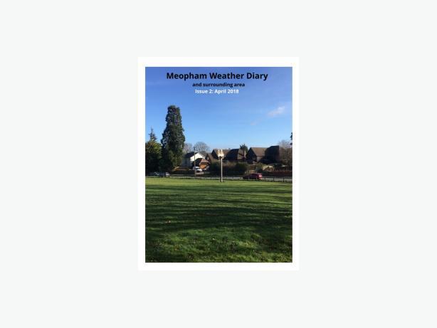 Meopham Weather Diary Magazine - April 2018