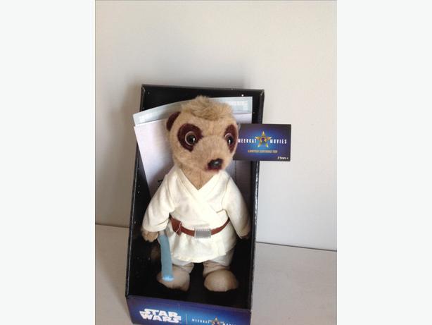 Meerkat Alexander as Luke skywalker