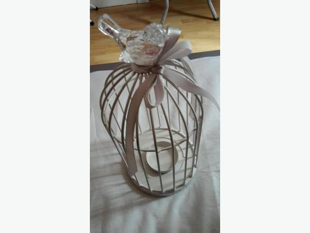 SHABBY CHIC TEA LIGHT BIRD CAGE -  ONLY £2.50