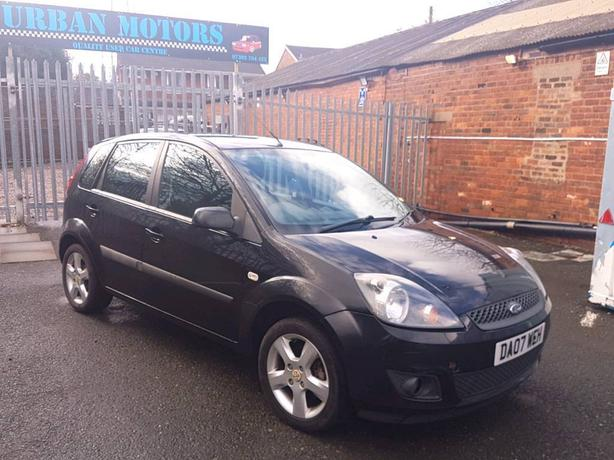 07 REG FORD FIESTA 1.2 5 DOOR - VERY ECONOMICAL - PX WELCOME