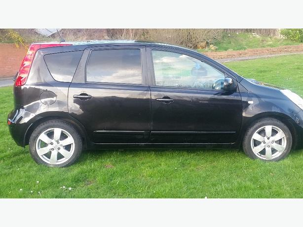 2008 57 Nissan Note 1.5 Dci 5 Door Black