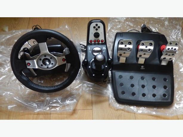 logitech g25 racing wheel gaming pc