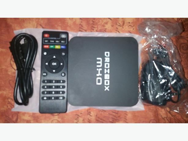 MXQ  droibox android tv boxes with remote and leads
