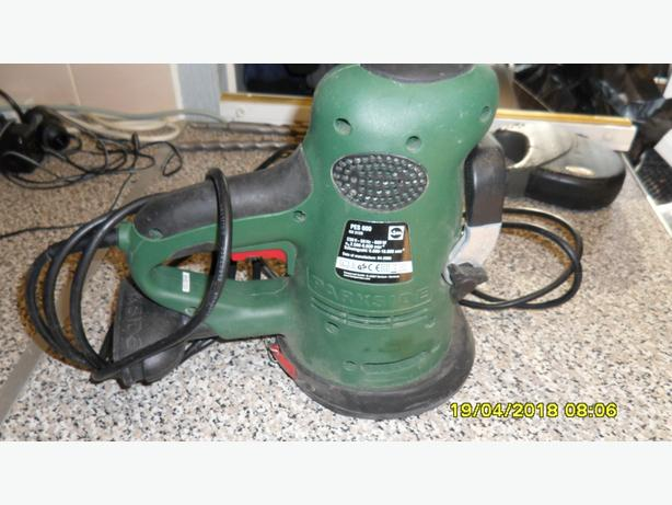 PARKSIDE MODEL PES 600 RANDOM ORBITAL ELECTRIC SANDER