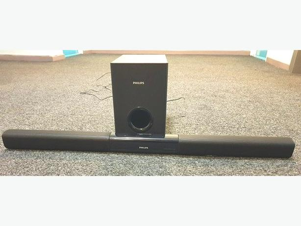 Philips Sound Bar With Subwoofer