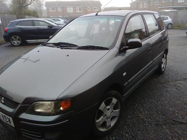 MITSUBISHI SPACE STAR 2005 1.3 5 DOOR 43K MILES ONLY
