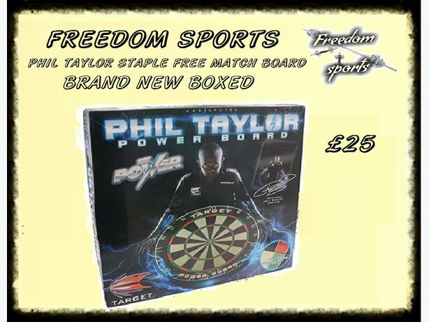 PHIL TAYLOR POWER BOARD BNB  BOARD FOR  PROFESSIONALS