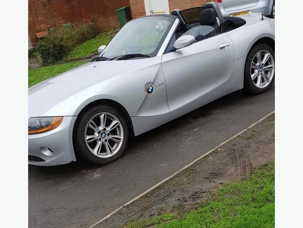 Bmw z4 convertible mint 55 reg swap px trade