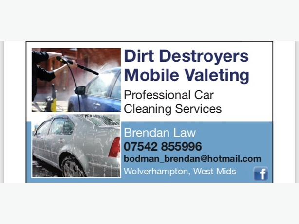 dirt destroyers mobile valeting