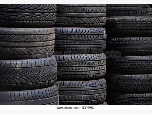 DIFFERENT SIZE TYRES