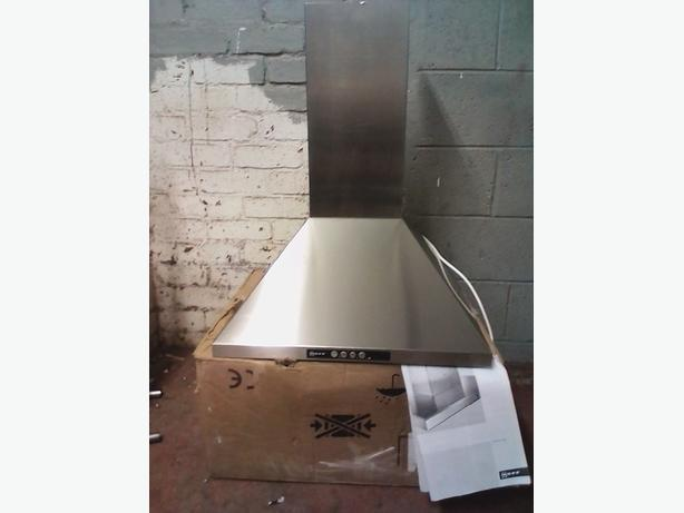 NEFF cooker hood/chimney brand new