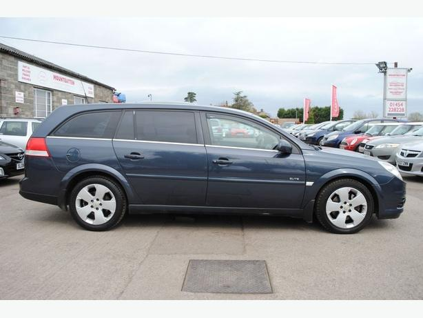 Vauxhall Vectra 2.8i V6 Turbo Auto Elite estate - only 70k with FMDSH - V RARE !