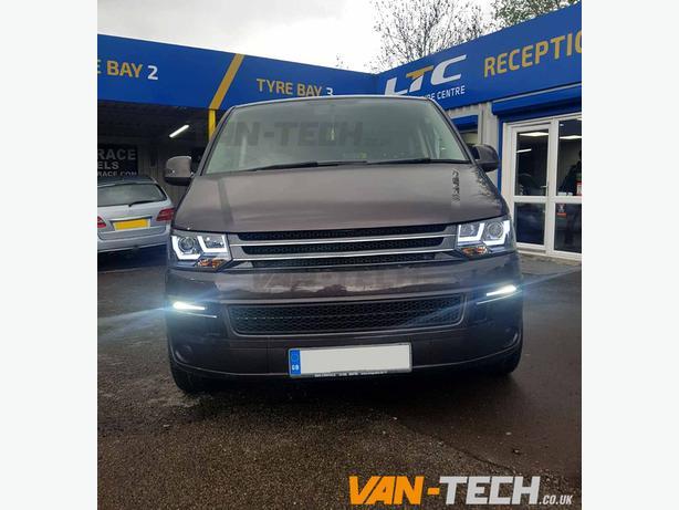  Log In needed £380 · VW T5 1 LED DRL Light Bar Headlights 2010-2015