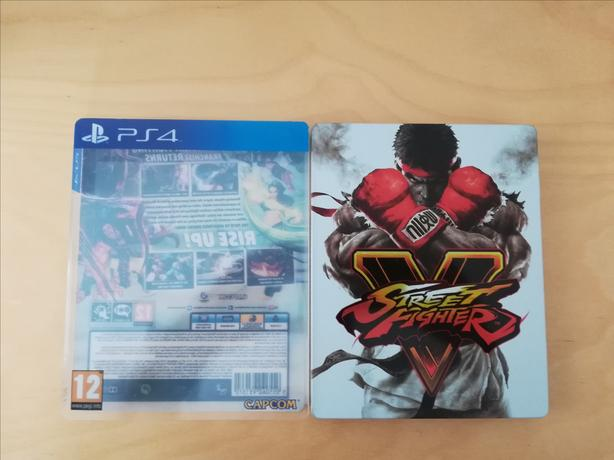 PS4 Street Fighter 5 - Steel Book Edition