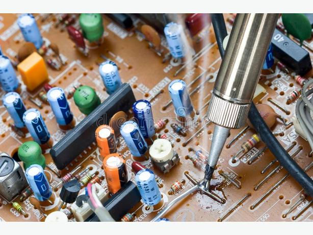 Soldering repairs carried,
