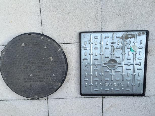 OFFERS : 450 diameter manhole with frame
