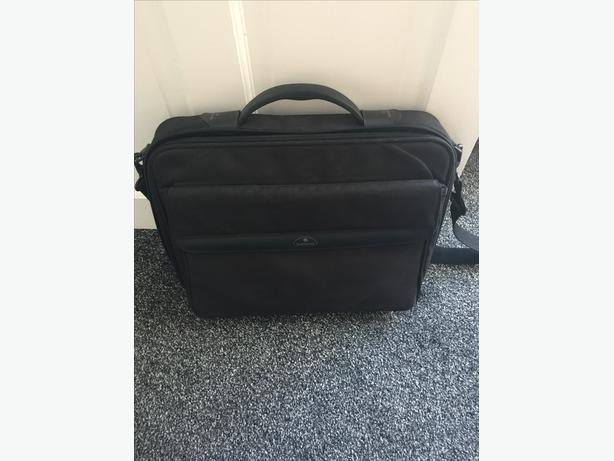SAMSONITE black  laptop bag, with shoulder strap