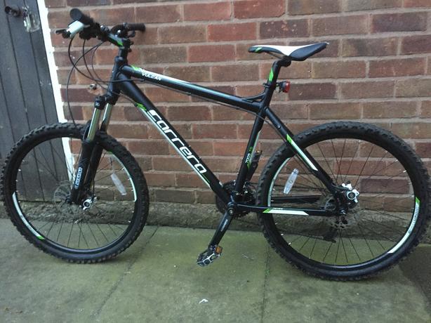  Log In needed £150 · Carrera vulcan mountain bike ( large)
