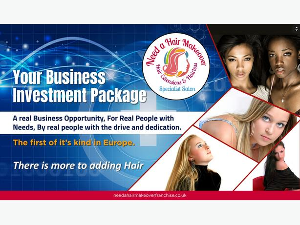 Hair Extensions & Hair Loss Franchise Opportunity