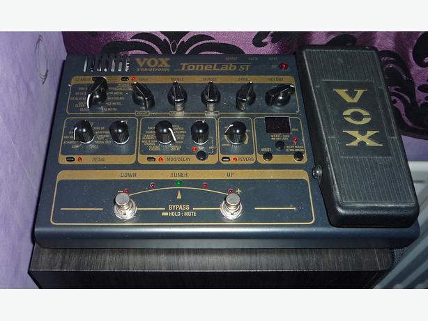 Vox Valvetronix Tonelab ST Guitar effect Pedal
