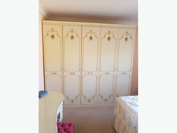 antique olympus louis wardrobe