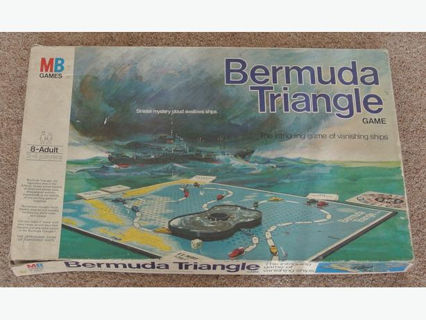 Vintage Bermuda Triangle Game from 1976 Very retro