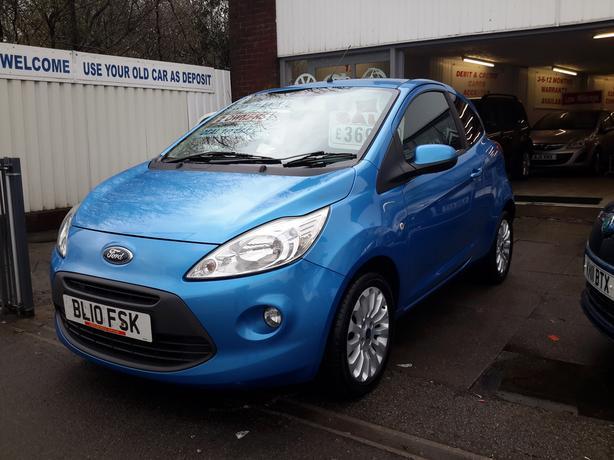 New Shape Ford Ka   Zetec Low Mileage Ideal St Car