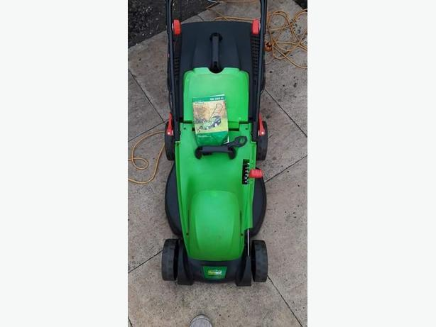 Garden lawnmower electric