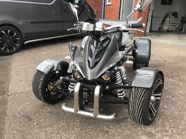 road legal quad