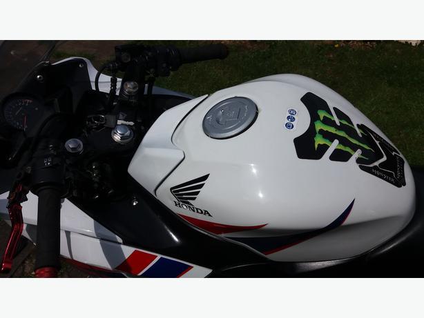 Honda cbr 125...2012...12 months mot...service history