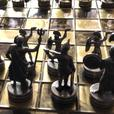 roman battle chess set