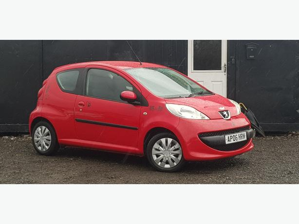 2006 PEUGEOT 107 1.0L + 3 DOOR + 12 MONTHS MOT + IDEAL FIRST CAR