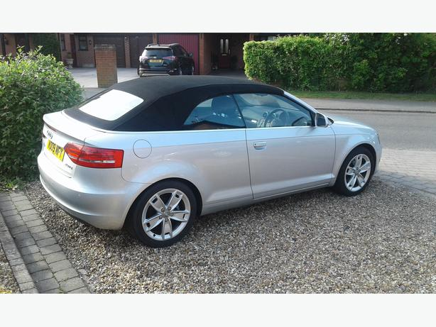 AUDI A3 2.0TDI SPORT CONVERTIBLE,VERY LOW MILES.