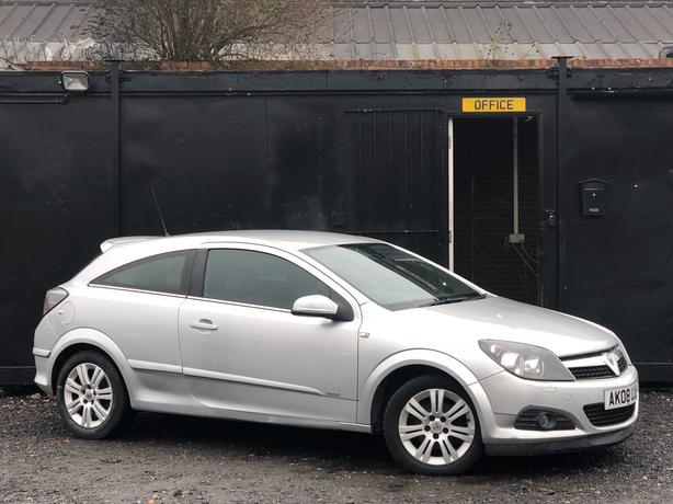 2008 VAUXHALL ASTRA DESIGN 1.6L + 3 DOOR COUPE + FULL S/HISTORY