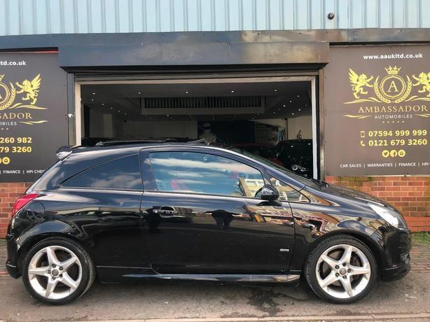 Vauxhall corsa sri 1.6 turb