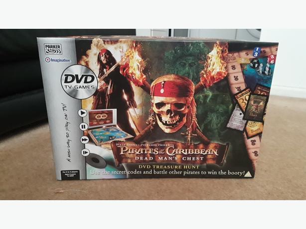 Pirates of the Caribbean dead man's chest DVD treasure hunt