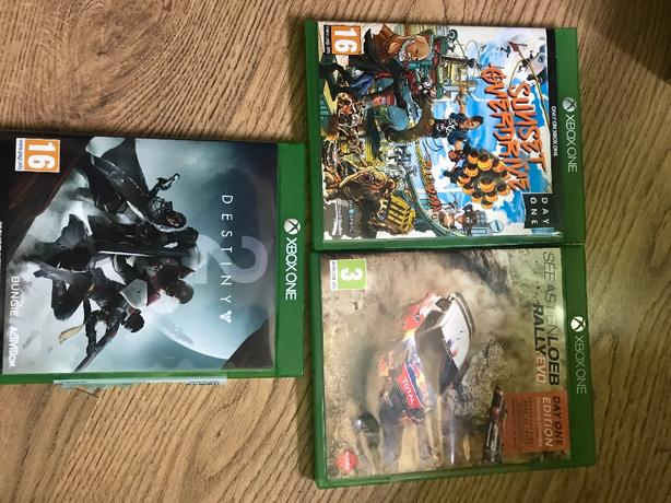 3x Xbox one games