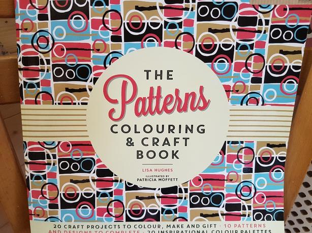 The Patterns Colouring & Craft Book by Lisa Hughes