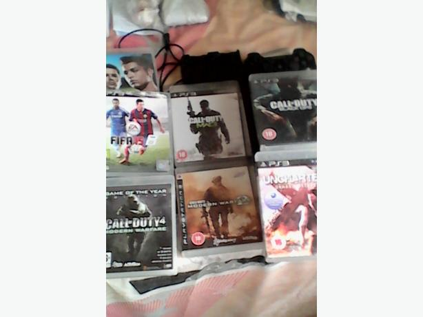 Ps3 SLIM 120gb bundle bargain