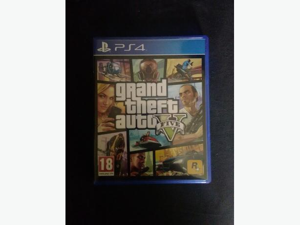 Ps4 game grand theft auto 5