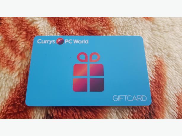 Currys Gift Card Balance >> Currys Pc World Gift Card Voucher Save 57 Wolverhampton Sandwell