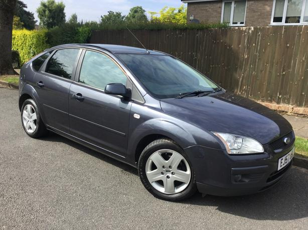Ford Focus 1.6 TDCi 110 Style hatch - only 96k with PSH & long MOT !