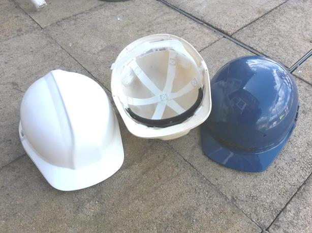 **FREE** Three builders hard hats