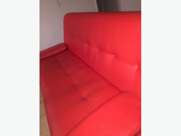 Phenomenal Red Leather Sofa Bed Wolverhampton Sandwell Download Free Architecture Designs Philgrimeyleaguecom