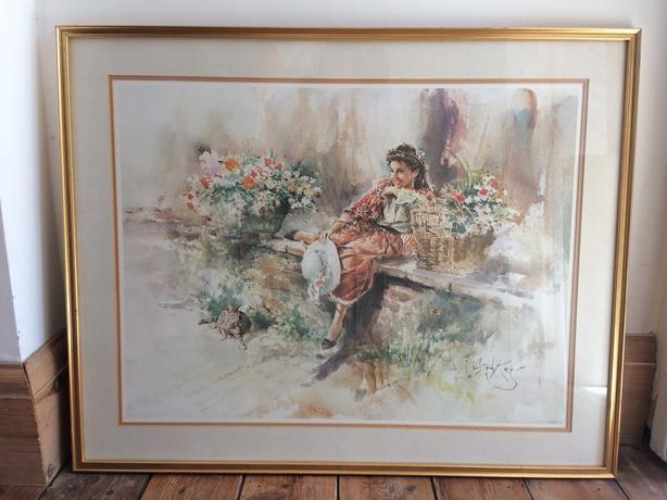 """Gordon King Print 76cm long x 61cm high or 30"""" x 2ft"""