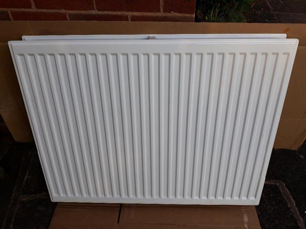 Brand New Double Radiator. 700mm  x 900mm.