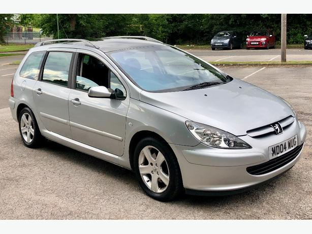 2004/04 PEUGEOT 307 1.6 ENVY SW ESTATE **7 SEATER**