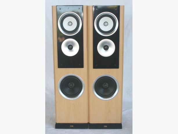 A PAIR OF TDL SUPER 10 SPEAKERS DUDLEY, Dudley